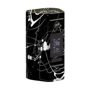 Black and White Splatter Wismec Reuleaux RX 2/3 Skin