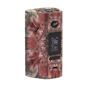 Green Abstract Wismec Reuleaux RX 2/3 Skin