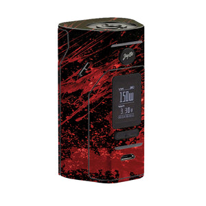 Red Black Blood Wismec Reuleaux RX 2/3 Skin