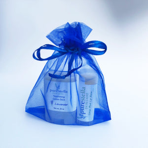 Lip Balm and Mini Lotion Stick Gift Set
