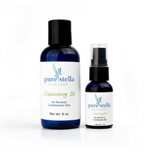 Facial Cleansing Oil for Normal to Combination Skin