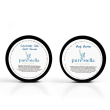 Body Butter and Sea Salt Scrub Ultimate Pampering Gift Set