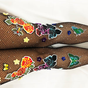 Flower Power Fishnets