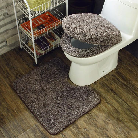 toilet carpet design