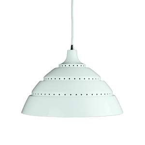 Leto Pendant Light | Black and White - Oz Lights Direct