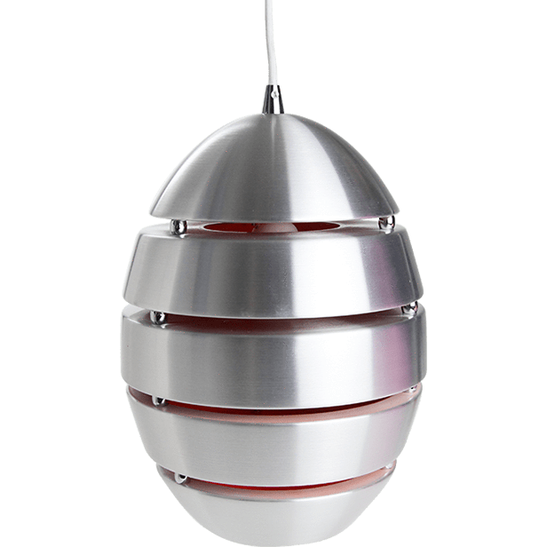 Crius Pendant Light | White and Orange Interior - Oz Lights Direct