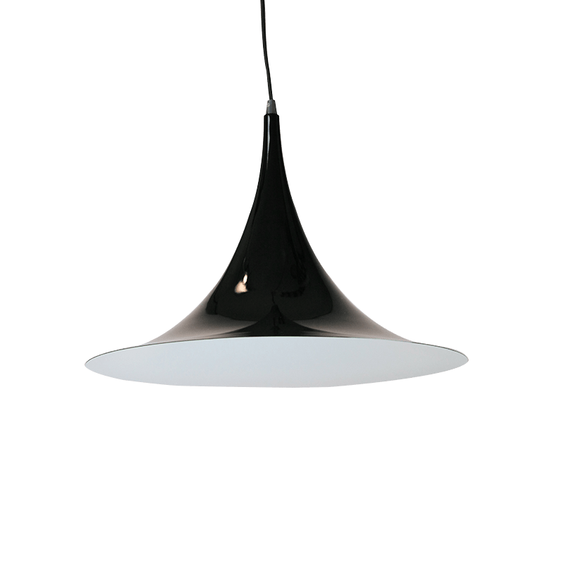 Iole Pendant Light | Luminous Bright Red, Luminous Yellow, Aluminium, Black, Flame Red, Light Blue, Matte Black and White - Oz Lights Direct