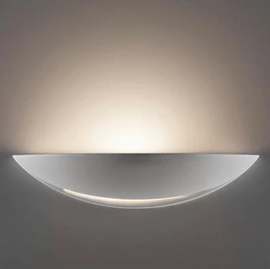 Wall Light Raw Ceramic E27 in 31cm BF-8235 Domus Lighting - Oz Lights Direct