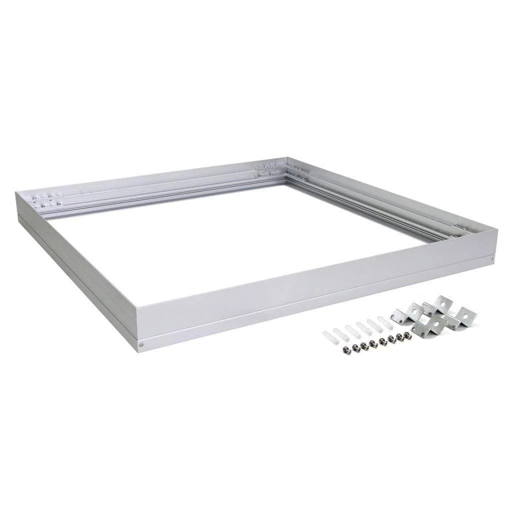 Domus Lighting SM KIT-303 Square Surface Mounted Panel Frame - Aluminium Finish - Oz Lights Direct