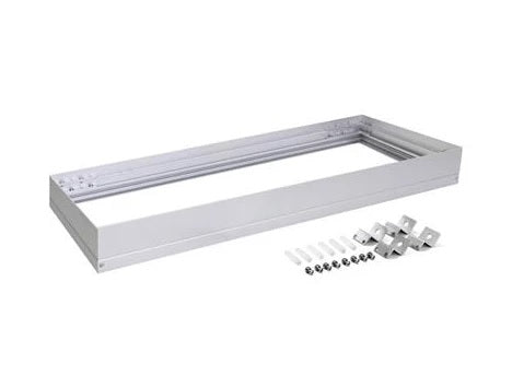 Domus Lighting SM KIT-312 Rectangular Surface Mounted Panel Frame - Aluminium Finish - Oz Lights Direct