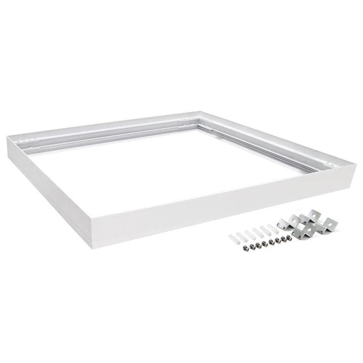 Domus Lighting SM KIT-303 Square Surface Mounted Panel Frame - White Finish - Oz Lights Direct