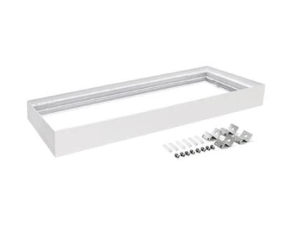 Domus Lighting SM KIT-312 Rectangular Surface Mounted Panel Frame - White Finsh - Oz Lights Direct