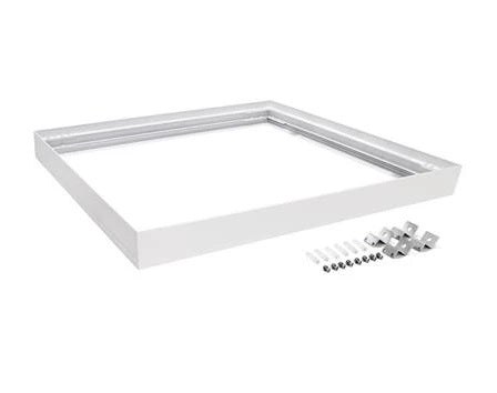 Domus Lighting SM KIT-606 Square Surface Mounted Panel Frame - White Finish - Oz Lights Direct