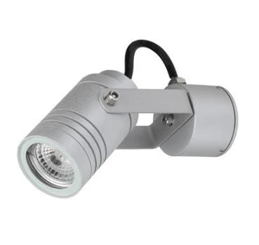 LED Spot Light Outdoor Adjustable 6W in 3000K 12cm Domus Lighting - Oz Lights Direct