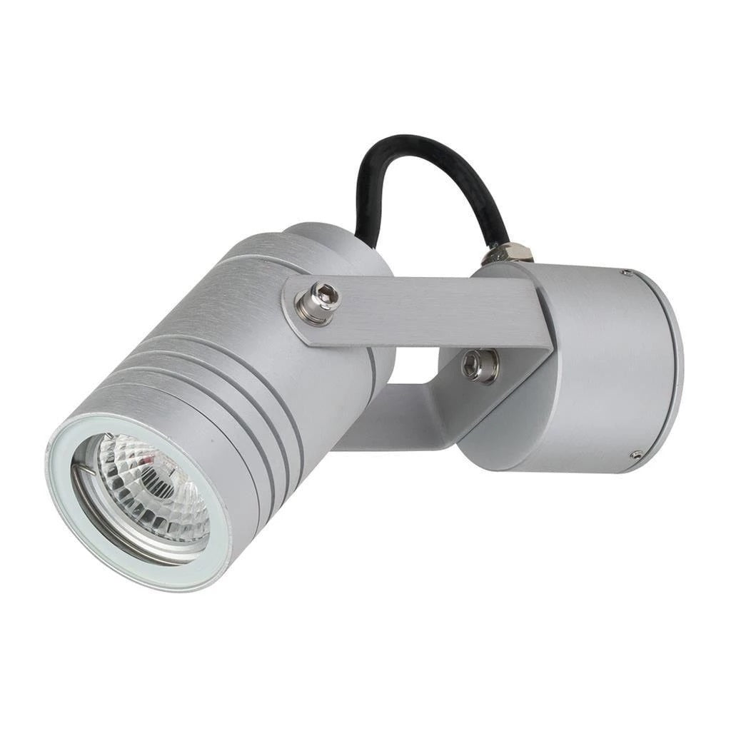 Domus Lighting ELITE-ADJ-WB 6W 240V LED Spotlight - Aluminium Finish (Body Only) - Oz Lights Direct