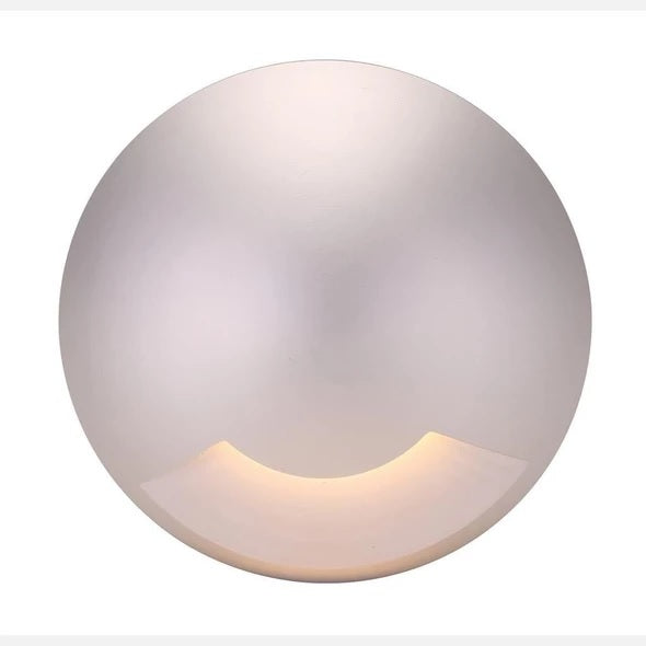 Domus Lighting Deka Round Cover to Suit Deka-Body - Anodised Aluminium or Solid Brass - Oz Lights Direct