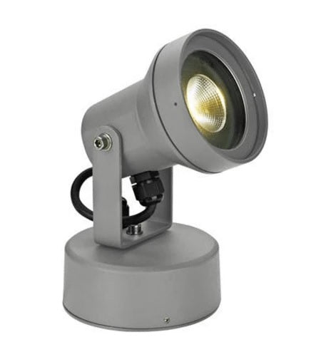 LED Spot Light Silver or Grey Vision in 9W 240V in Silver and Dark Grey in 3k or 5k Domus Lighting - Oz Lights Direct