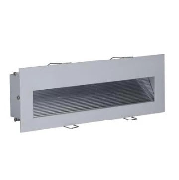 LED Step Light 3W w 3000K or 6000K in 24cm 240V Slide Domus Lighting - Oz Lights Direct