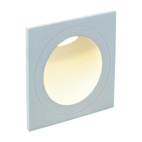 LED Step Light Outdoor Square White in 3W 8cm You in 3k and 5K Domus Lighting - Oz Lights Direct