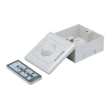 LED Controller Wall mounted PWM dimmer w Remote Constant Voltage 12V 72W Domus - Oz Lights Direct