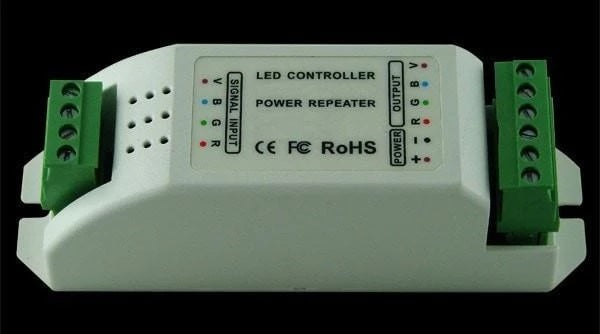 LED Controller Wall Data Repeater Constant Current 350mA 1W 12cm Domus Lighting - Oz Lights Direct