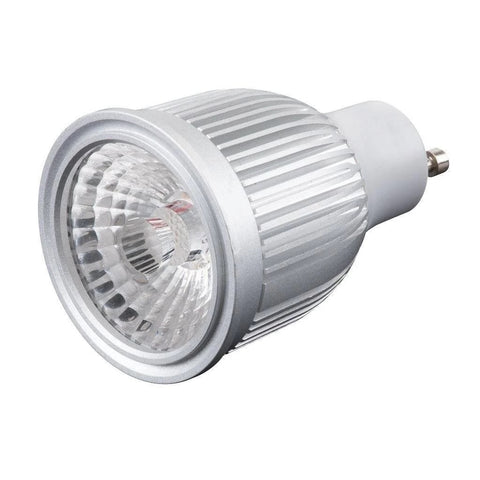 LED Globe Bulb Lamp MONO Lens 6W GU10 IP20 60 Degree in 3K and 5K Domus Lighting - Oz Lights Direct