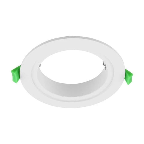 Adaptor Plate Satin White for LED Downlight in 14cm Domus Lighting - Oz Lights Direct