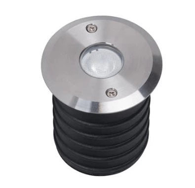 Domus Lighting Magneto 3W LED Induction Inground Light 24V 316 Stainless Steel - Narrow Beam 25° - Oz Lights Direct
