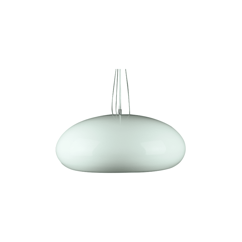 Ulrik Pendant Light | Black and White - Oz Lights Direct