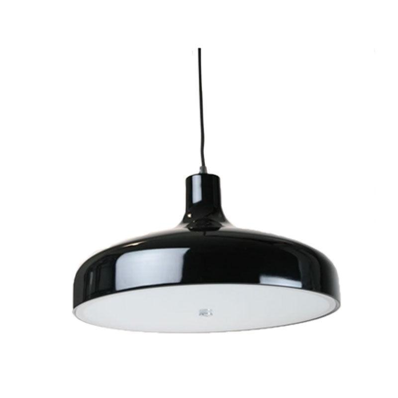 Aella Pendant Light | Industrial Series Style in Aluminium, Black and White - Oz Lights Direct