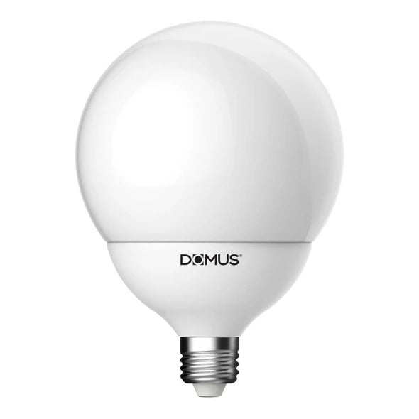 LED Globe Spherical Frost 17W in B22 or E27 17cm in 27K and 65K Domus Lighting Domus Lighting - Oz Lights Direct