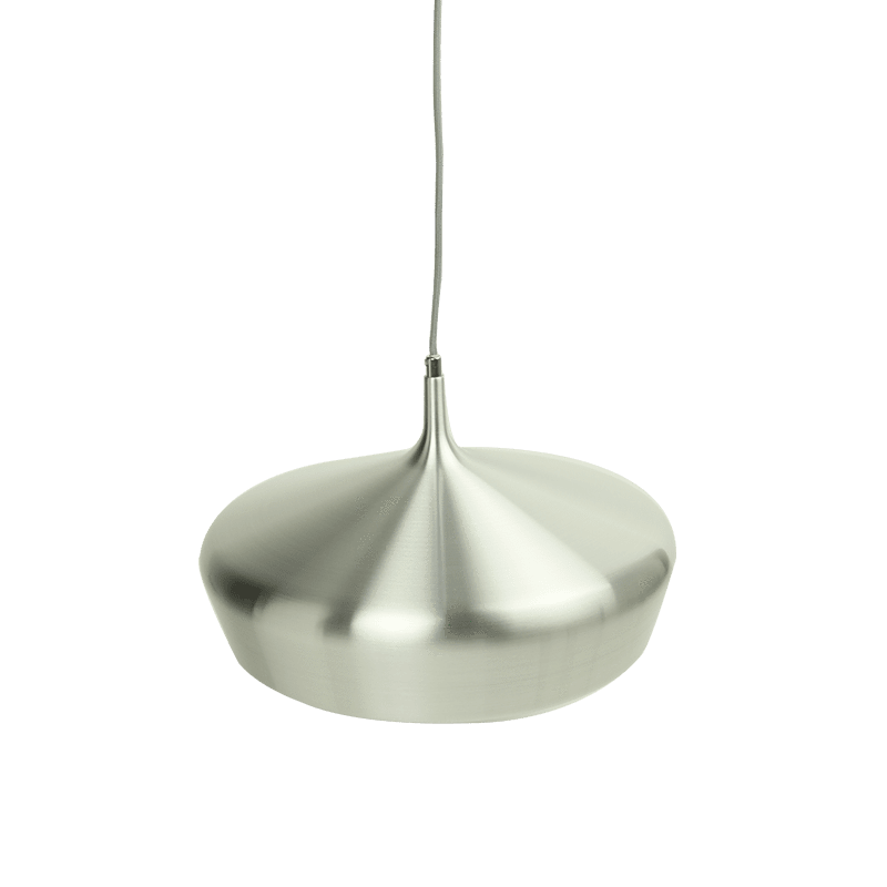 Rhea Pendant Light | Aluminium and Red - Oz Lights Direct