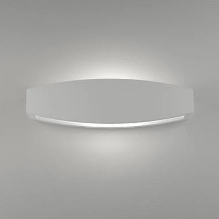 Wall Light Raw Ceramic White Up Down G9 in 36cm BF-2608B Domus Lighting - Oz Lights Direct