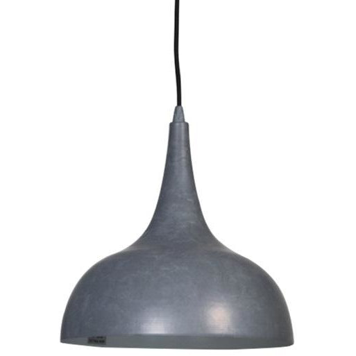 Becca Pendant Light | Industrial Style Cement Finish - Oz Lights Direct