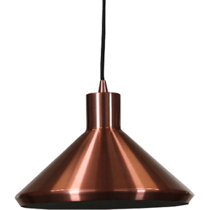 Bengt Pendant Light | Modern Series in Copper, Matte Black Gold Inside, Matte White Gold Inside, Wood Veneer & Milky White Inside and Veneer & Grey Luminous Green Inside - Oz Lights Direct