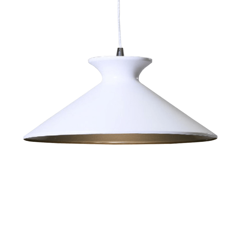 Bengta Pendant Light | Modern Series in Cement, Matte Black Gold Inside, Matte White Gold Inside and Rose Red - Oz Lights Direct