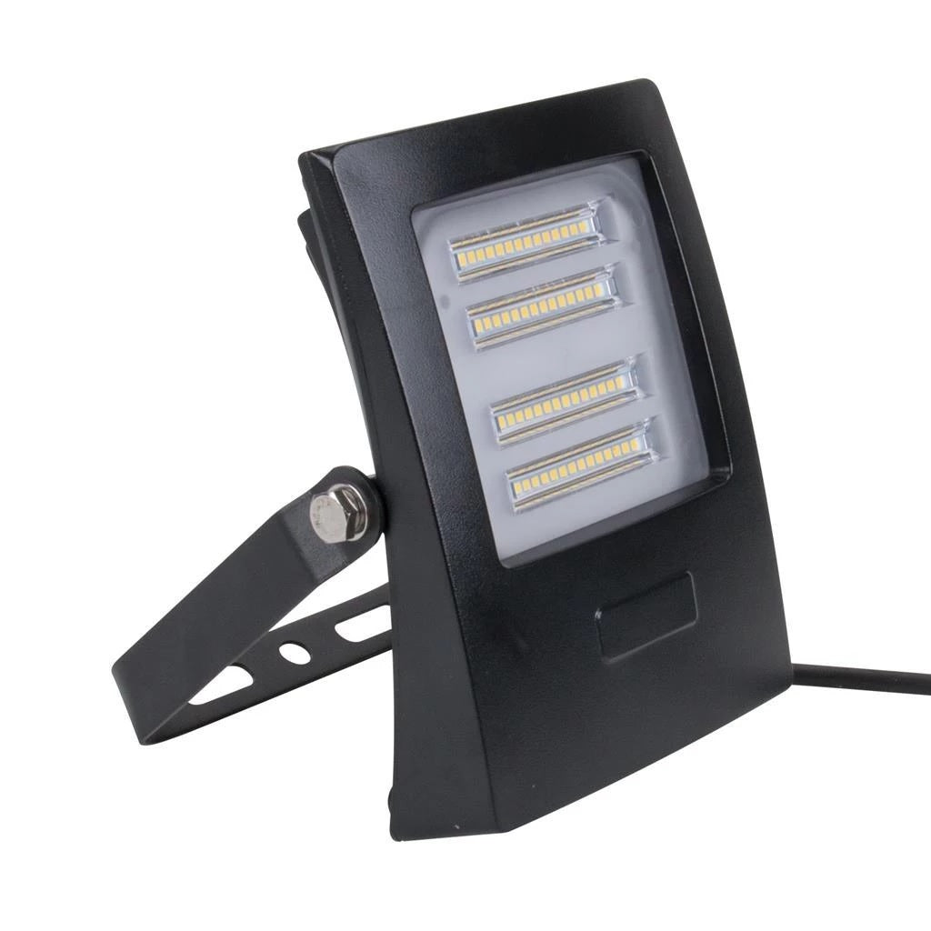 Domus Lighting BLAZE-30 LED 30W IP66 Floodlight with Black Polycarbonate Fascia - Oz Lights Direct