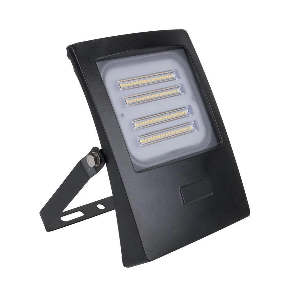 Domus Lighting BLAZE-50 LED 50W IP66 Floodlight with Black Polycarbonate Fascia - Oz Lights Direct