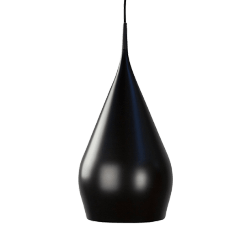 Eris Pendant Light | Classic Series in Aluminium, Blue, Glossy Black, Glossy White, Green, Matte Black , Orange and Red - Oz Lights Direct