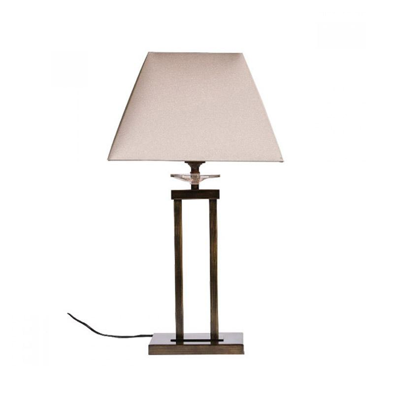Finn Table Lamp | Antique Brass - Oz Lights Direct