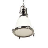 Gelos Classic Pendant Light | Antique Brass, Chrome and Clear Chrome - Oz Lights Direct