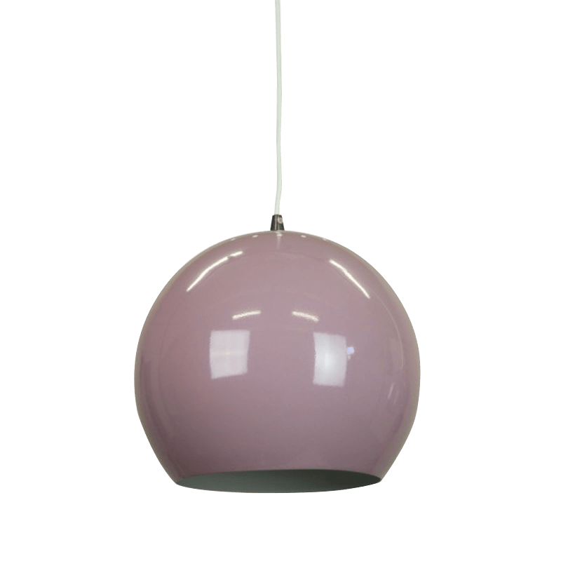 Inga Pendant Light | Classic Series in Aluminium, Beige Red, Black, Brown, Pastel Violet, Pigeon Blue and White - Oz Lights Direct