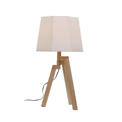 Ludvig Table Lamp | Wood Veneer - Oz Lights Direct