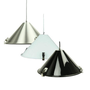 Melete Pendant Light | Aluminium, Black and White - Oz Lights Direct