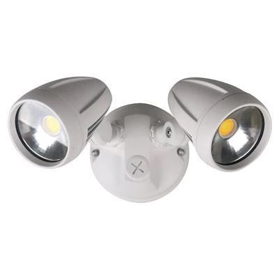Domus Lighting MURO-PRO-30 Twin Head 30W LED Spotlight - TRIO Tricolour - Oz Lights Direct