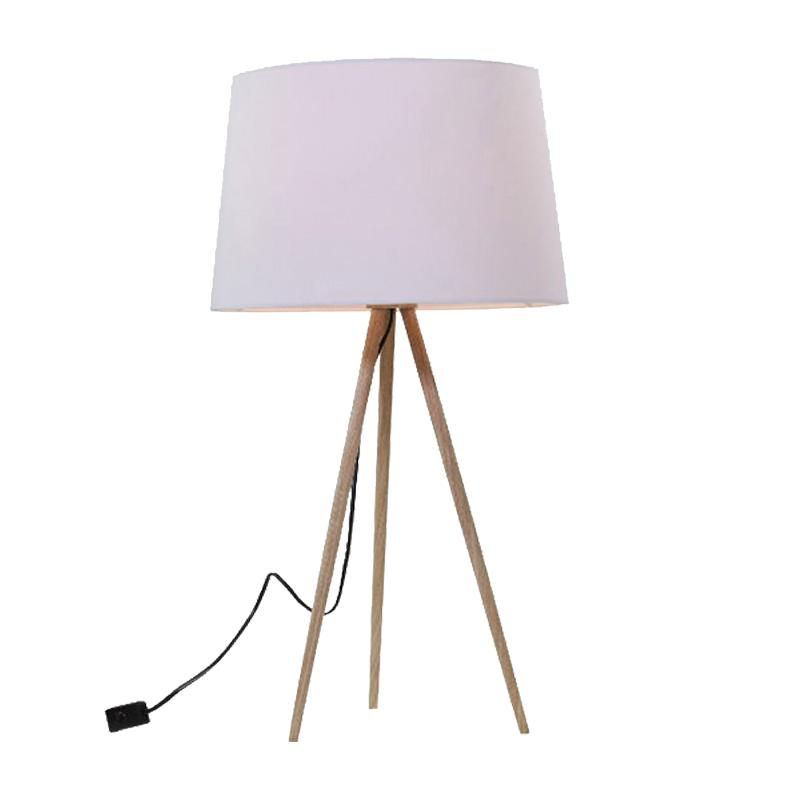 Nea Table Lamp | Wood Veneer - Oz Lights Direct