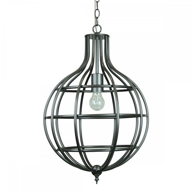 Valdus Leaden Pendant Light | Silver Lead - Oz Lights Direct