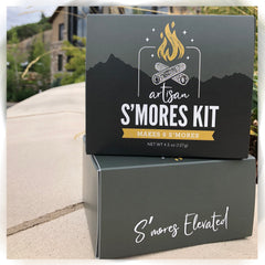 private label s'mores kit - gourmet marshmallows
