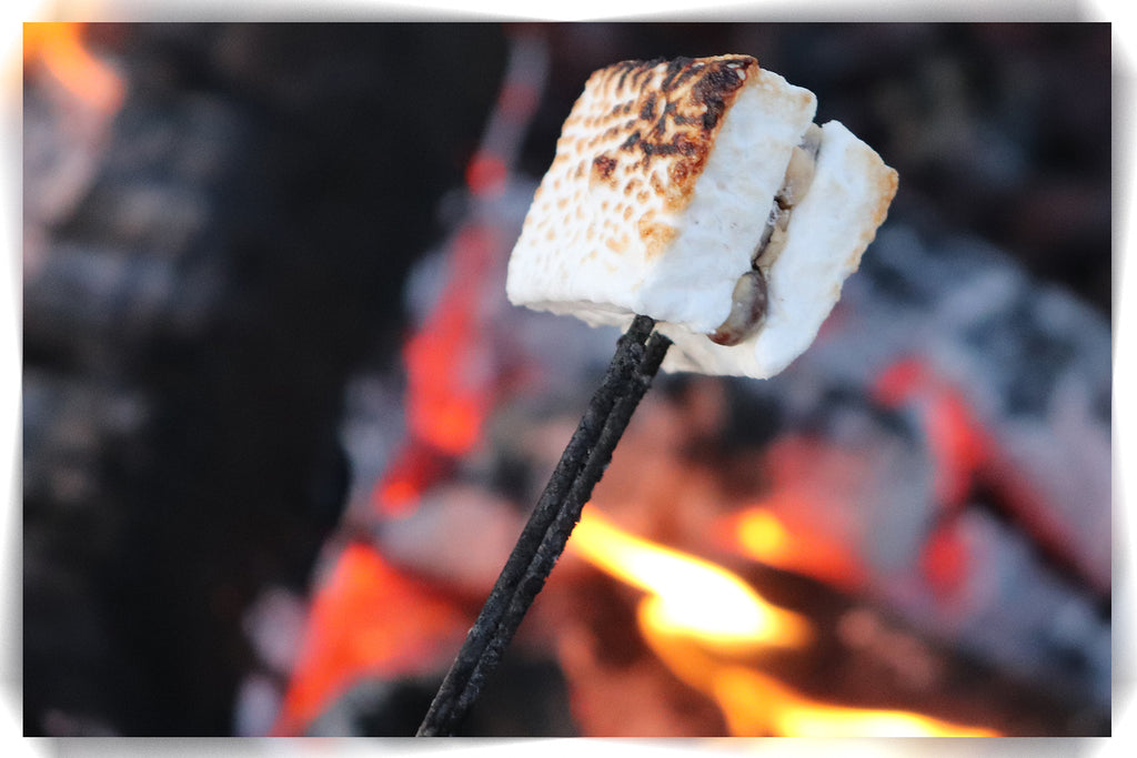 chocolate peanut butter marshmallows - stuffed marshmallows - gourmet marshmallows - Madyson's Marshmallows