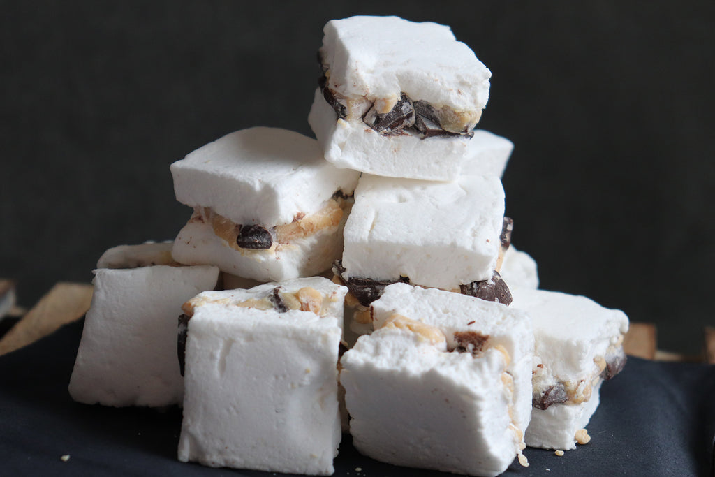 Chocolate Peanut Butter Stuffed Marshmallows {3PK}